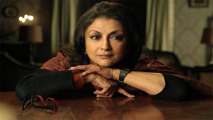 ভারতীয় অভিনেত্রী অপর্ণা সেন
