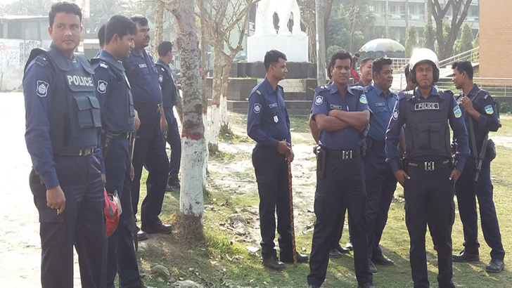 <h1>কবি নজরুল বিশ্ববিদ্যালয়ে ছাত্রলীগের সংঘর্ষে আহত ৩</h1>