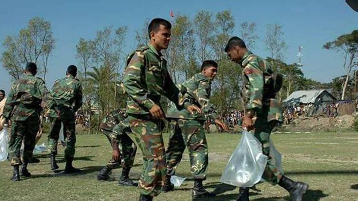 দেশের বৃহৎ অবকাঠামো নির্মাণে বাংলাদেশ সেনাবাহিনী