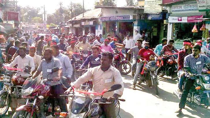 ডা. শাহ্ মো. ইয়াকুব-উল-আজাদের মোটরসাইকেল শোডাউন