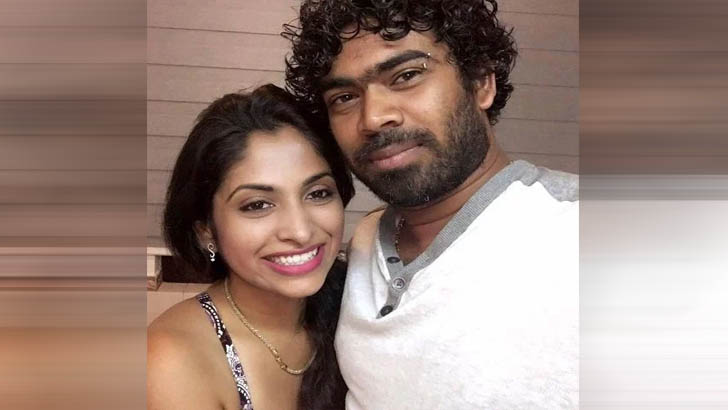 Tanya with Malinga wife