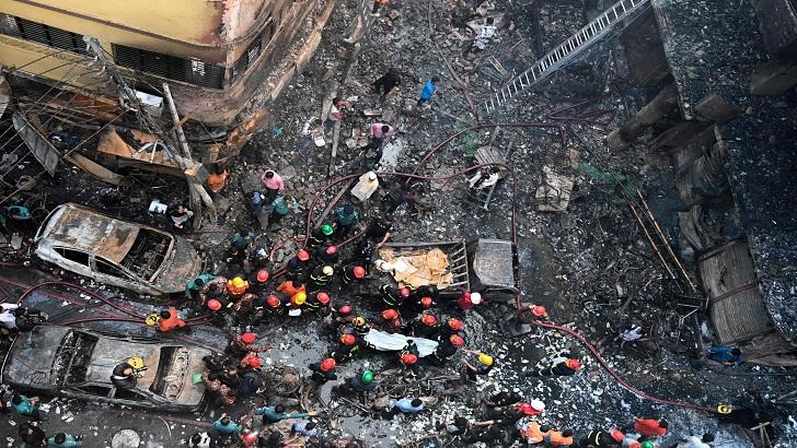এএফপির প্রতিবেদনে রাজধানীর সবচেয়ে প্রাণঘাতী দুর্ঘটনা