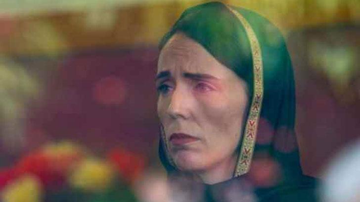শোকাহত নিউজিল্যান্ডের প্রধানমন্ত্রী জেসিন্ডা আর্ডার্ন। ছবি: সংগৃহীত