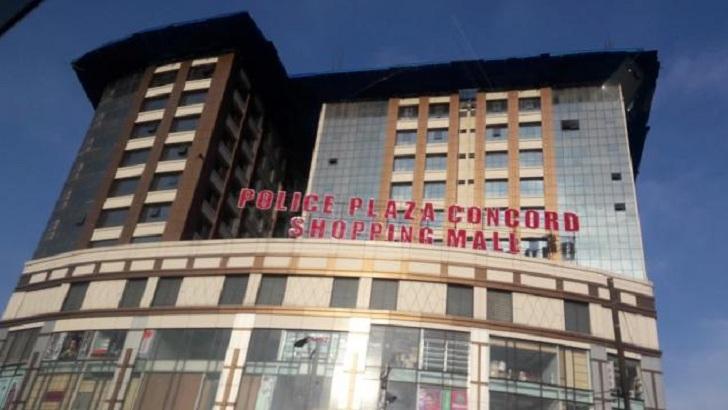 Police Plaza in the capital.
