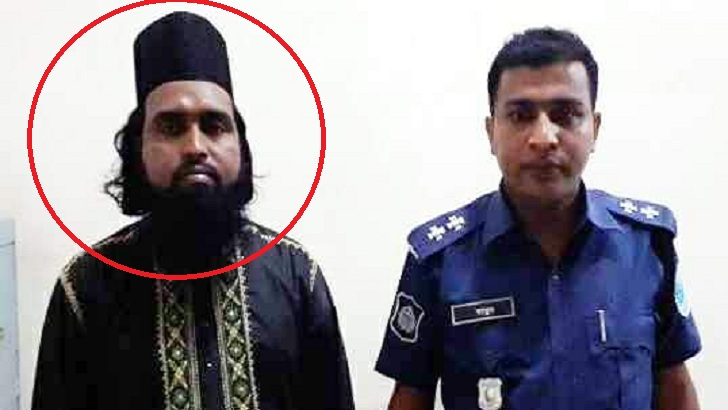 Police have arrested the alleged Maulan Habibur Rahman Rezu for his alleged attachment to the Prophet.
