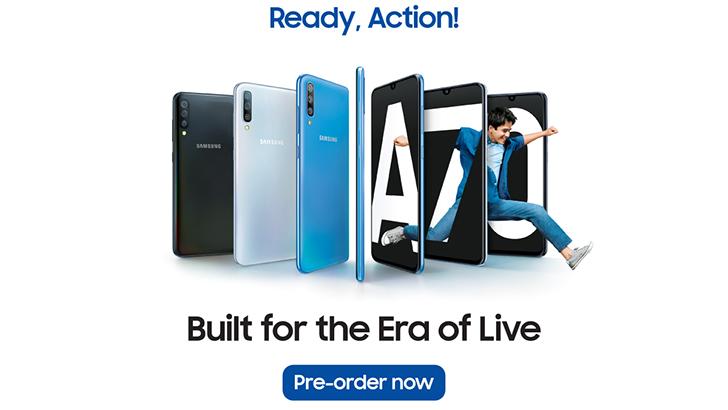 Samsung Galaxy launches sevanti pre-booking