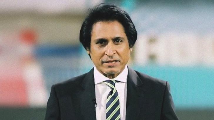 Former Pakistani cricket and commentator Ramiz Raja
