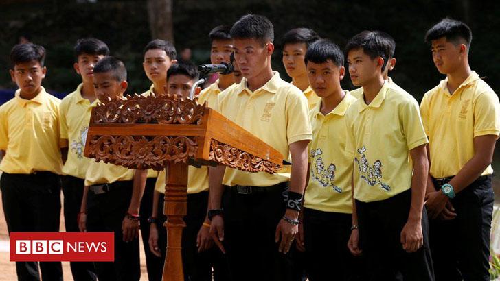 থাই কিশোরদের গুহাবন্দির এক বছর