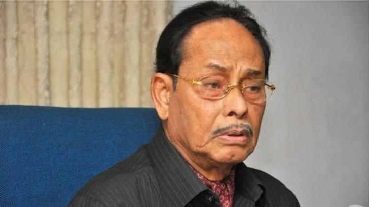 জাতীয় পার্টির চেয়ারম্যান হুসেইন মুহম্মদ এরশাদ