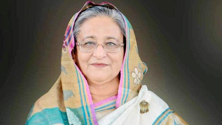 প্রধানমন্ত্রী শেখ হাসিনা ।