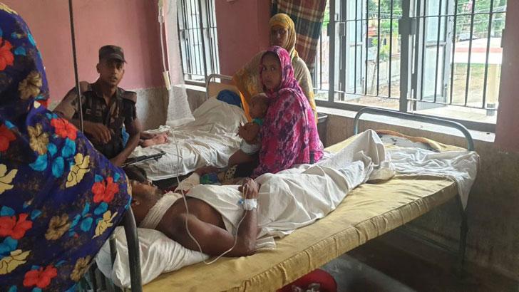 বেনাপোলে বিএসএফের গুলিতে বাংলাদেশি আহত