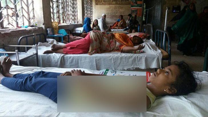 মারধরে আহত শিশু হাসপাতালে চিকিৎসাধীন