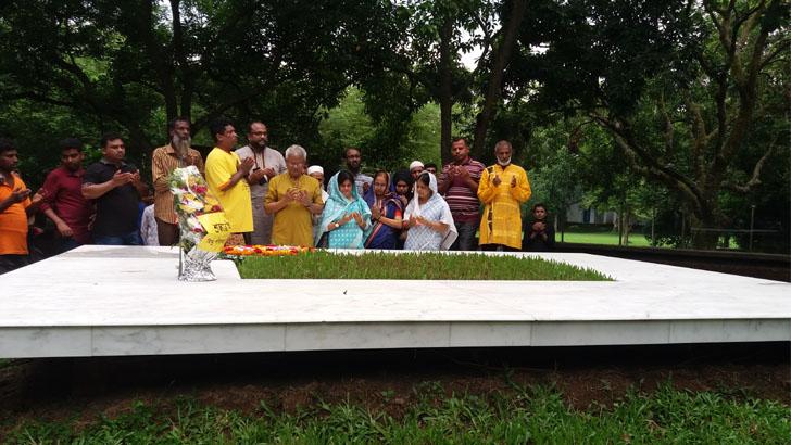 নুহাশ পল্লীতে হুমায়ূন আহমেদের সপ্তম মৃত্যুবার্ষিকী উপলক্ষে বিভিন্ন কর্মসূচি