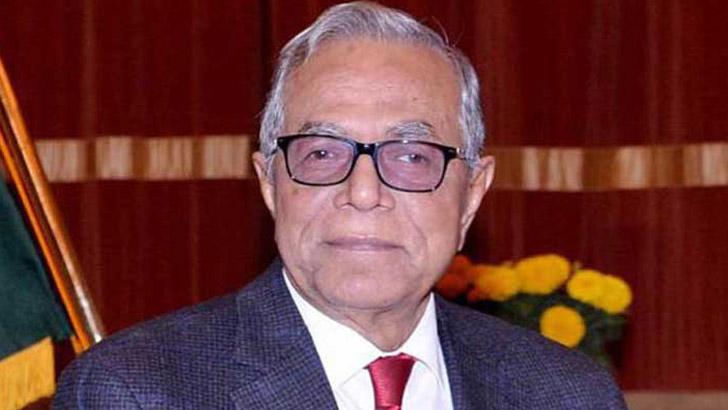 রাষ্ট্রপতি মো. আবদুল হামিদ। ছবি: সংগৃহীত