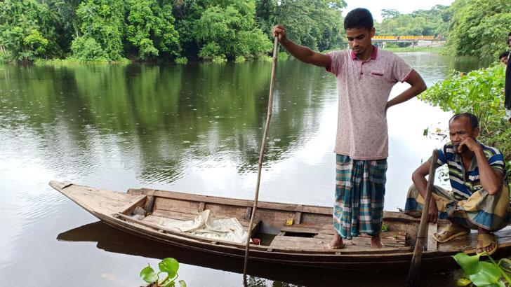 কোটালীপাড়ায় খালে মিলল নিখোঁজ যুবকের লাশ