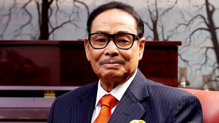 সাবেক রাষ্ট্রপতি হুসেইন মুহম্মদ এরশাদ