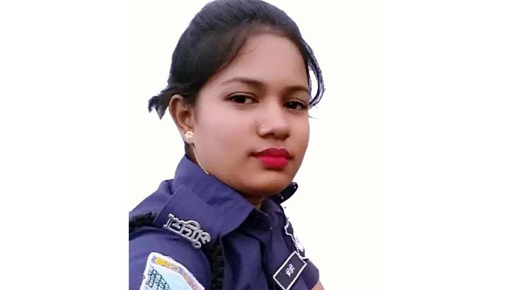 পিরোজপুরে মঠবাড়িয়া উপজেলায় পুলিশ সদস্য মিমি আক্তার