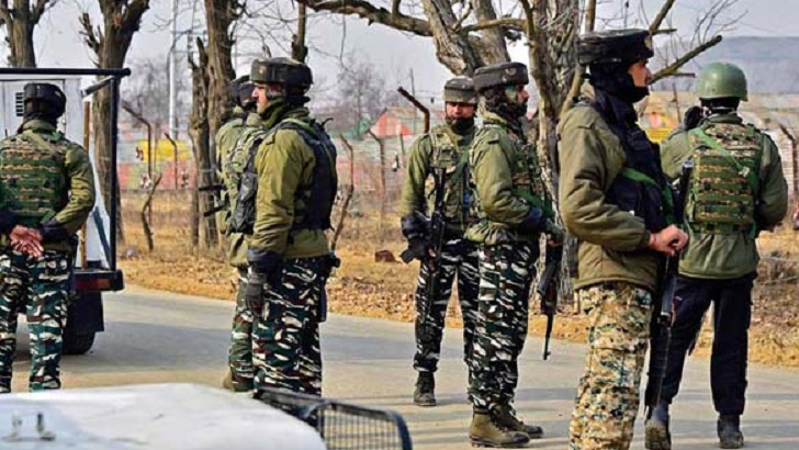 ভারতীয় সেনাবাহিনী। ফাইল ছবি
