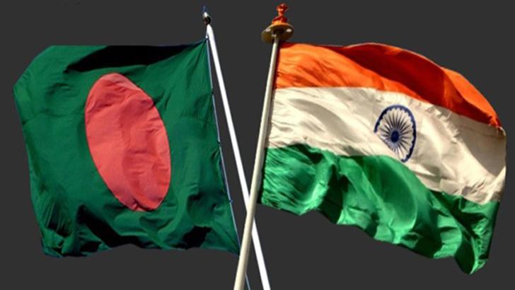 বাংলাদেশ ভারত পতাকা