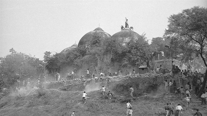 'বাবরি মসজিদ গুঁড়িয়ে দেয়ার ঘটনা ছিল আইনের লঙ্ঘন'
