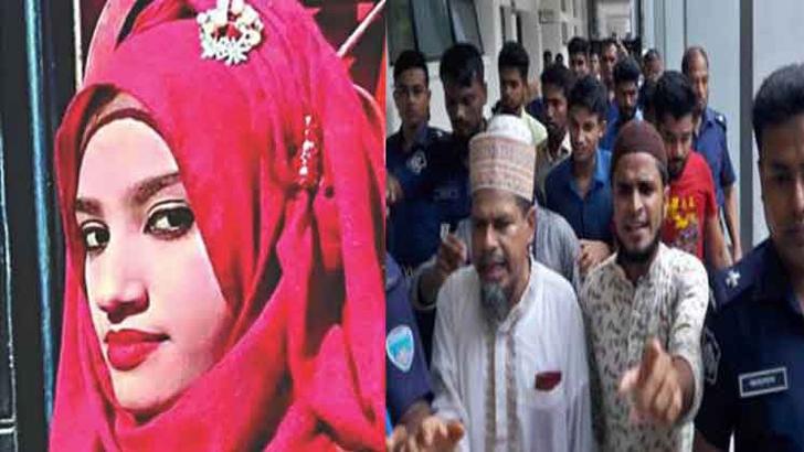 নুসরাত হত্যায় মৃত্যুদণ্ডপ্রাপ্ত আসামিদের কুমিল্লা-চট্টগ্রামে নেয়া হচ্ছে