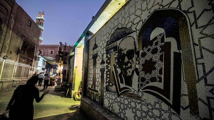 কায়রোর এলোমেলো কানাগলিতে আজও বেঁচে আছেন নাগিব মাহফুজ