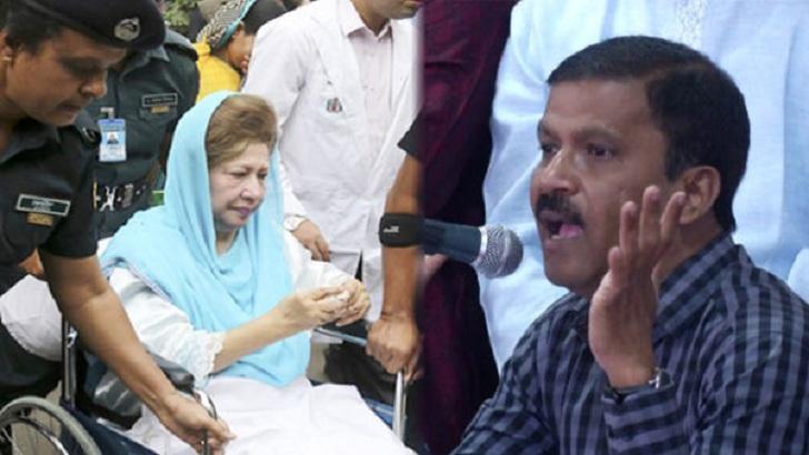খালেদা জিয়া-আসিফ নজরুল