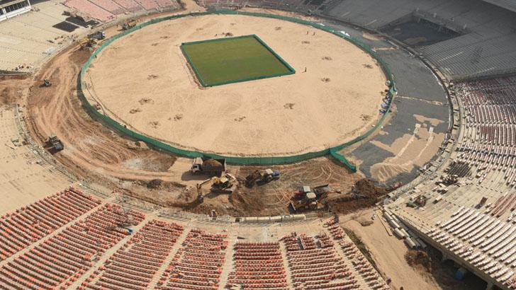 তৈরি হচ্ছে বিশ্বের সবচেয়ে ক্রিকেট স্টেডিয়াম