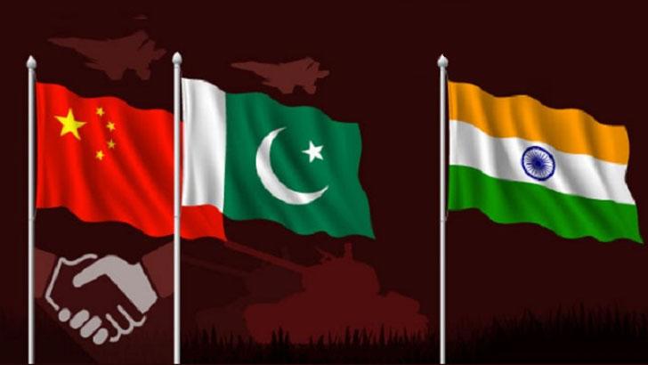 চীন, পাকিস্তান ও ভারত