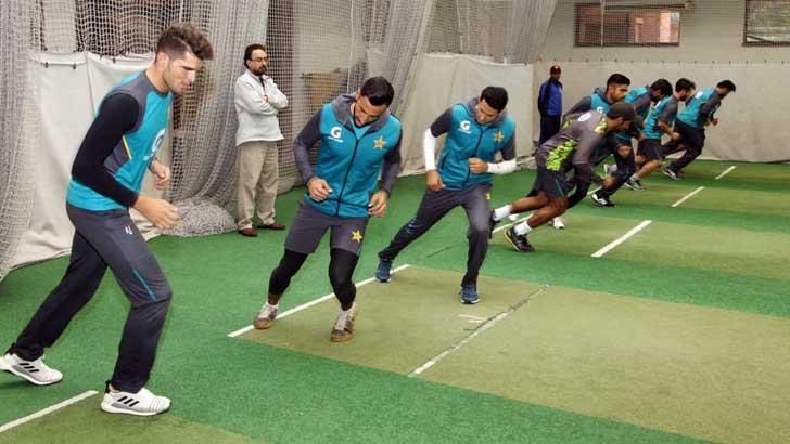 বাংলাদেশ সিরিজ সামনে রেখে অনুশীলনে ব্যস্ত পাকিস্তানের ক্রিকেটাররা