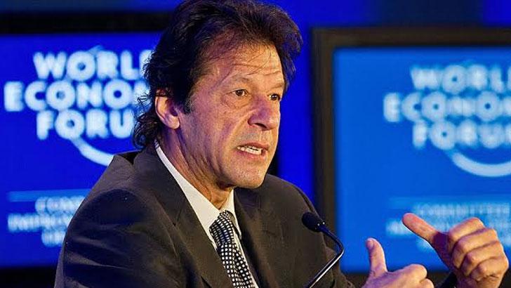 বিশ্ব অর্থনৈতিক ফোরামে দেয়া বক্তৃতায় ইমরান খান