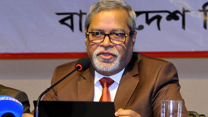 সিইসি কেএম নূরুল হুদা