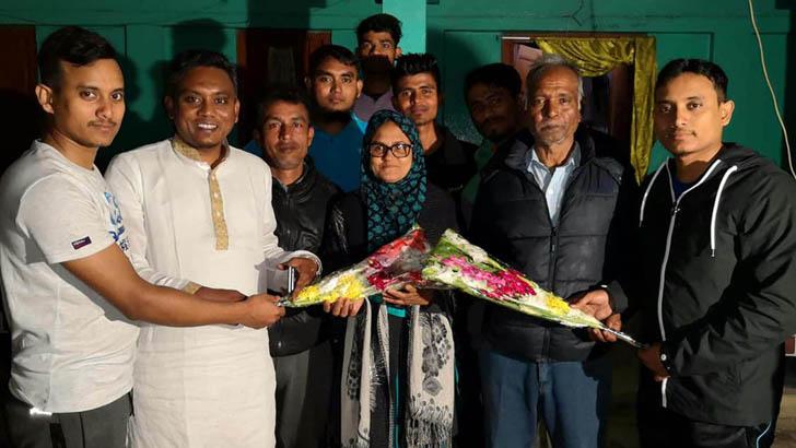 যুব বিশ্বকাপ চ্যাম্পিয়ন: সাকিবের গ্রামের বাড়িতে উল্লাস