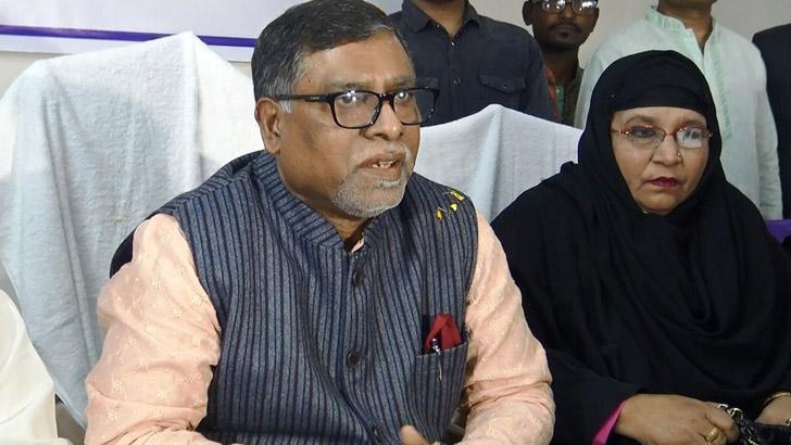 স্বাস্থ্যমন্ত্রী ডা. জাহিদ মালেক