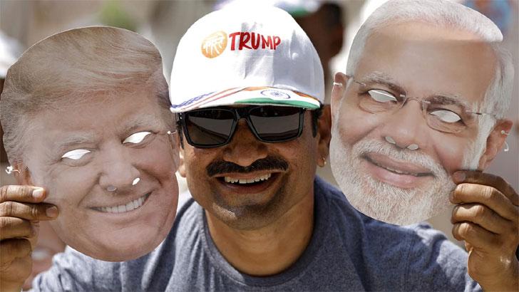 ট্রাম্পের ভারত সফর: নতুন সমীকরণের পূর্বাভাস
