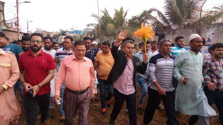 ঢাকা-১০ আসনের উপনির্বাচনে নির্ভয়ে ভোট দিন: বিএনপি প্রার্থী রবি