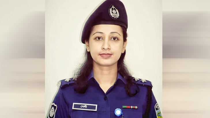 দুর্গাপুর সার্কেলের এএসপি মাহমুদা শারমিন নেলী