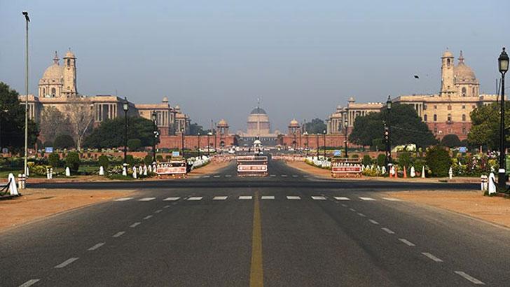 ভারতের রাজধানী নয়াদিল্লি লকডাউন