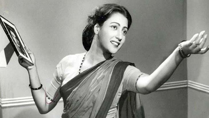 কিংবদন্তি অভিনেত্রী সুচিত্রা সেন