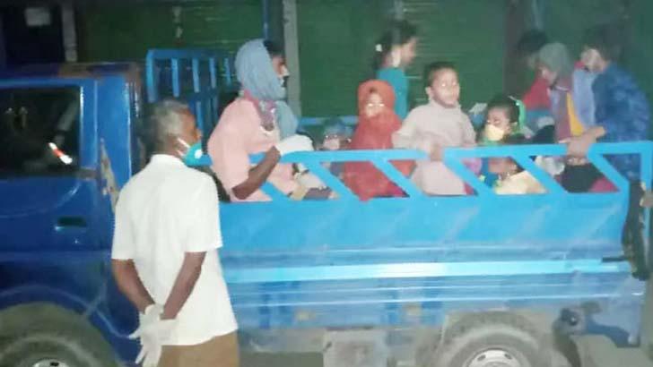 গভীর রাতে নারায়ণগঞ্জ থেকে বাড়ি ফেরাদের নিয়ে কটিয়াদীতে আতঙ্ক