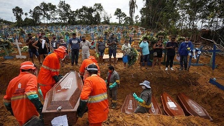 মহামারির নতুন কেন্দ্রভূমি দক্ষিণ আমেরিকা: বিশ্ব স্বাস্থ্য সংস্থা