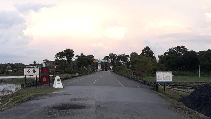 বিয়ানীবাজারের শেওলা স্থলবন্দরে