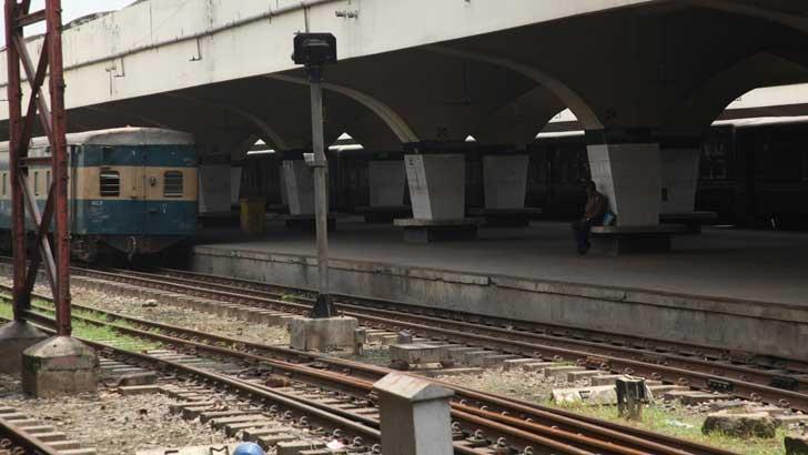 কমলাপুর রেলওয়ে স্টেশন। ফাইল ছবি