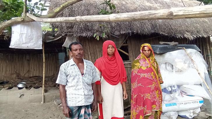 ভাঙা ঘরে চাঁদের আলো কালীগঞ্জের আসমানী
