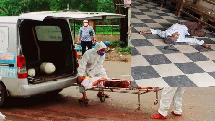 শ্রীমঙ্গলে বাস কাউন্টারে হঠাৎ এক বাসযাত্রীর মৃত্যু