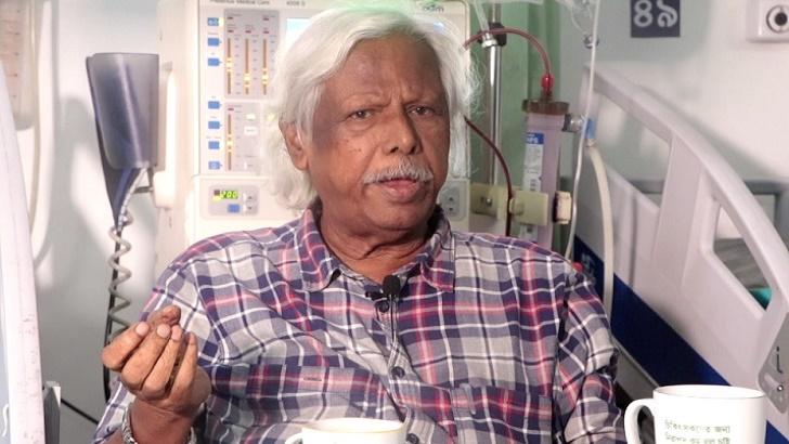 আবারও প্লাজমা থেরাপি নিলেন ডা. জাফরুল্লাহ চৌধুরী