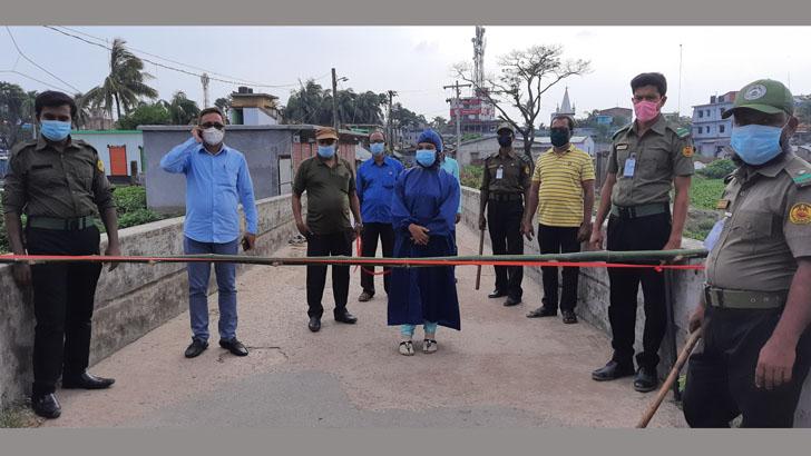কেশবপুর শহর লকডাউন