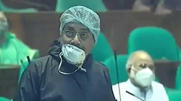 জাতীয় সংসদের বিএনপির সংসদ সদস্য হারুনুর রশীদ।