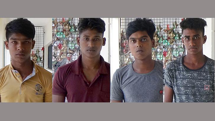 ঝিনাইদহে ট্রাকে চাঁদাবাজি, ৪ জনের বিরুদ্ধে দ্রুত বিচার আইনে মামলা