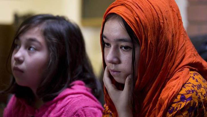 উইঘুর মুসলিম নারী